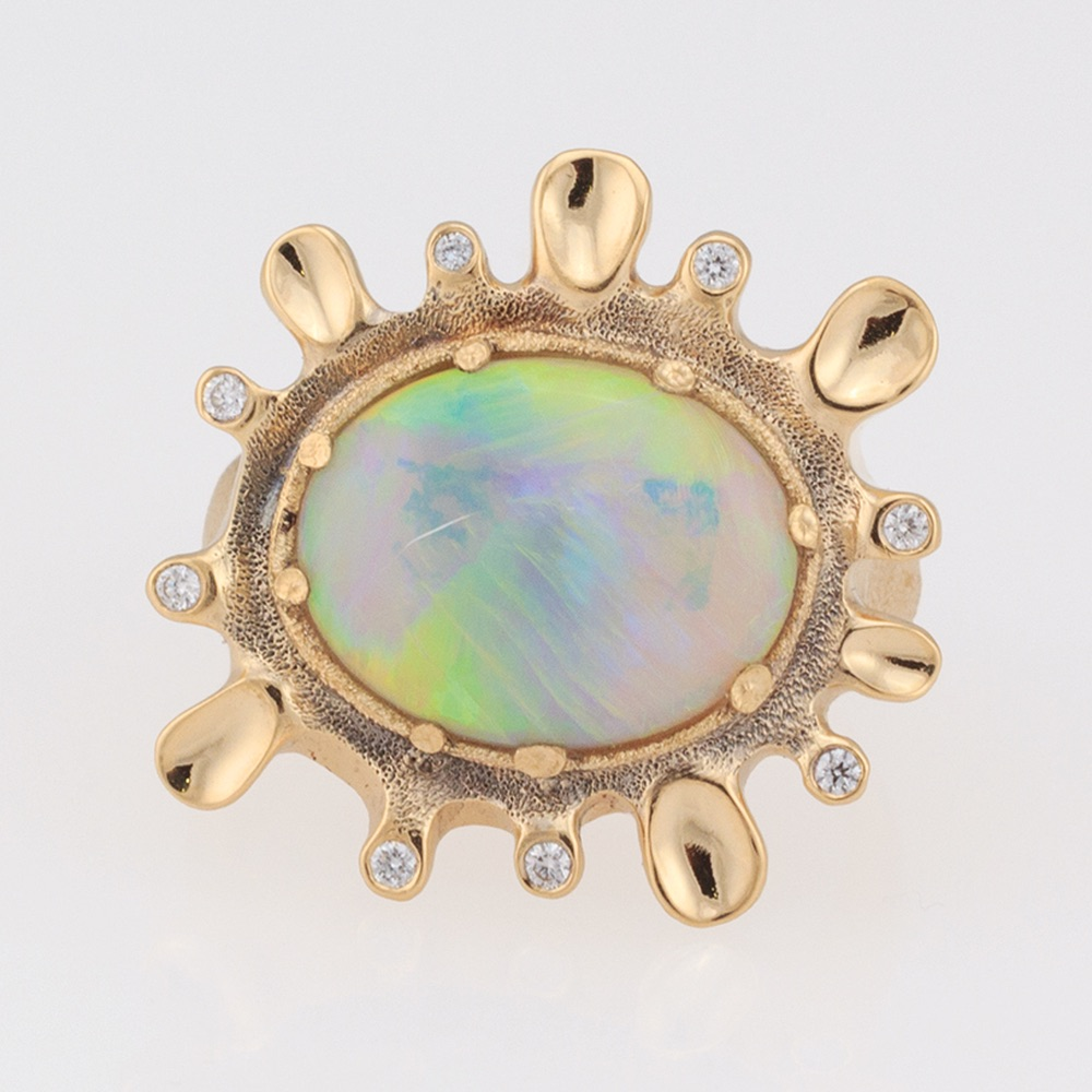 The Jewel - Audrius Krulis Designer - Lookbook - Colorful Gemstone Ring