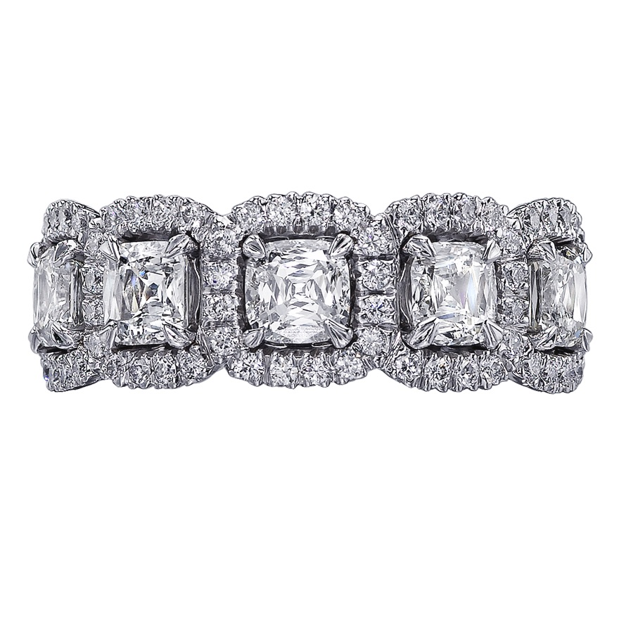 The Jewel - Christopher Designs - Lookbook - Square Damond Lined Ring