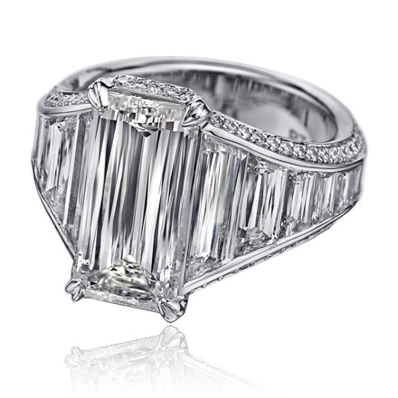 The Jewel - Christopher Designs - Lookbook - Square Diamond Ring