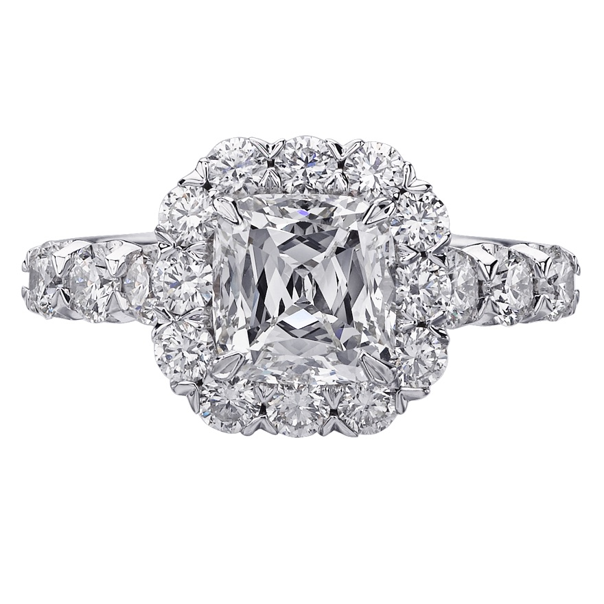 The Jewel - Christopher Designs - Lookbook - Circle Diamond Ring