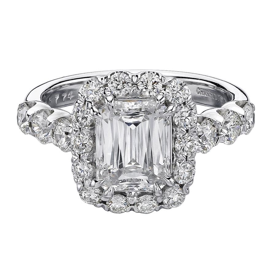 The Jewel - Christopher Designs - Lookbook - Square Diamond Ring
