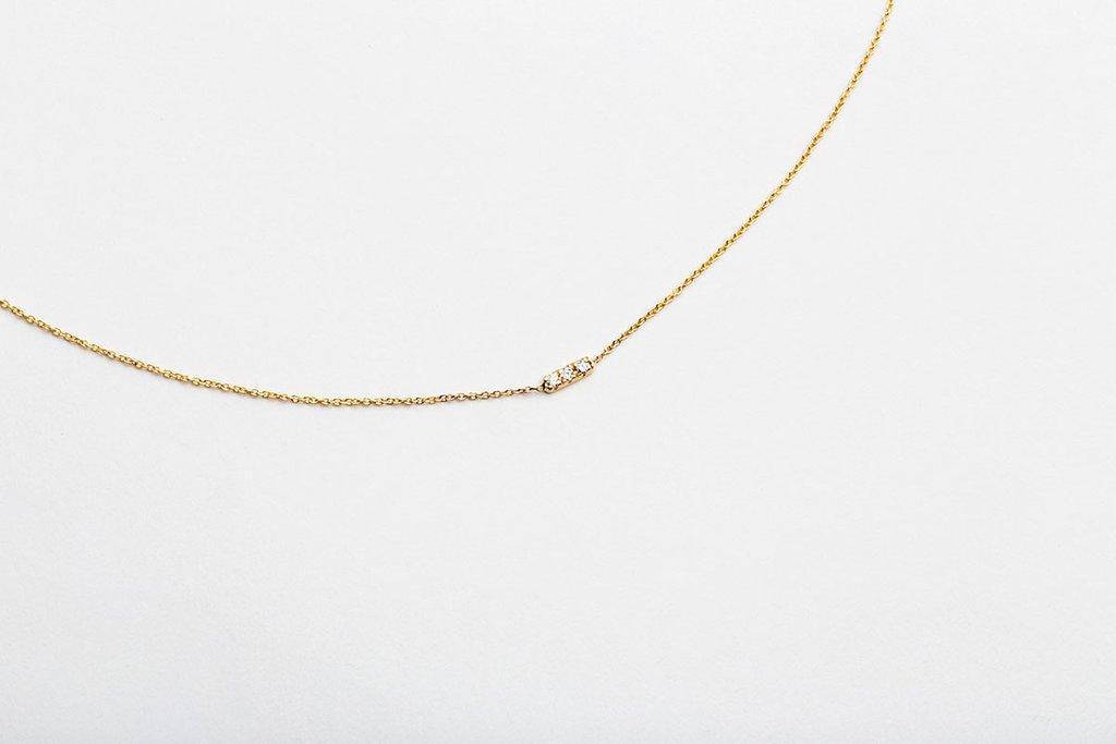 The Jewel - Hortense - Lookbook - Dainty Gold Necklace