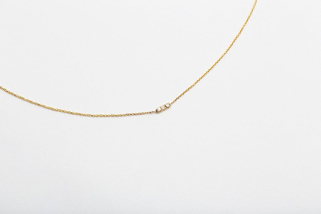 The Jewel - Hortense - Lookbook - Dainty Gold Necklace