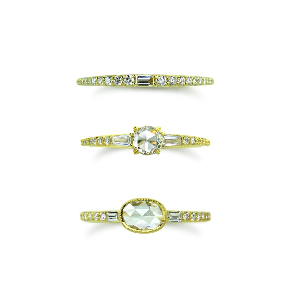 The Jewel - Ila - Lookbook - Diamond Studded Bands