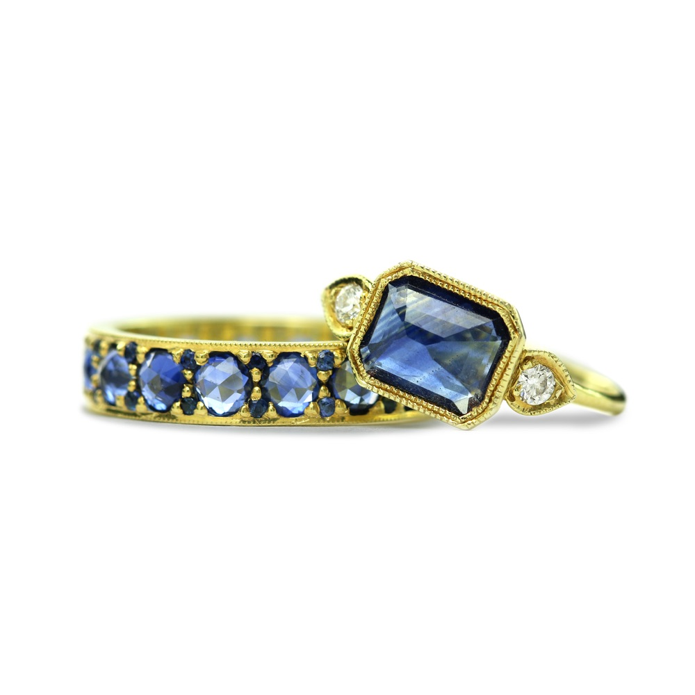 The Jewel - Ila - Lookbook - Sapphire Rings
