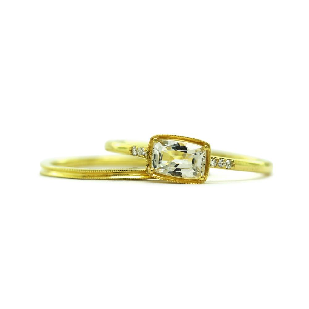 The Jewel - Ila - Lookbook - Gold Diamond RIng