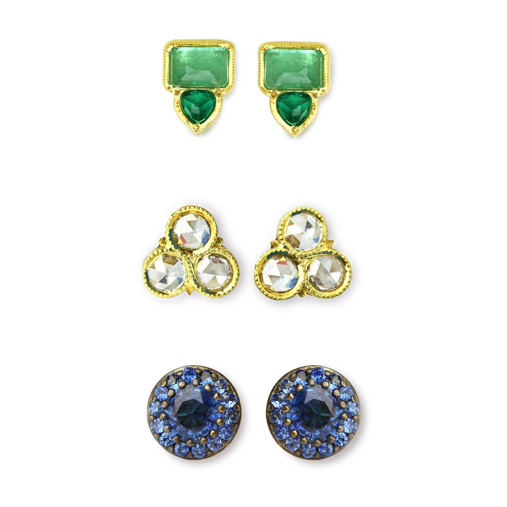 The Jewel - Ila - Lookbook - Gold Stud Earrings