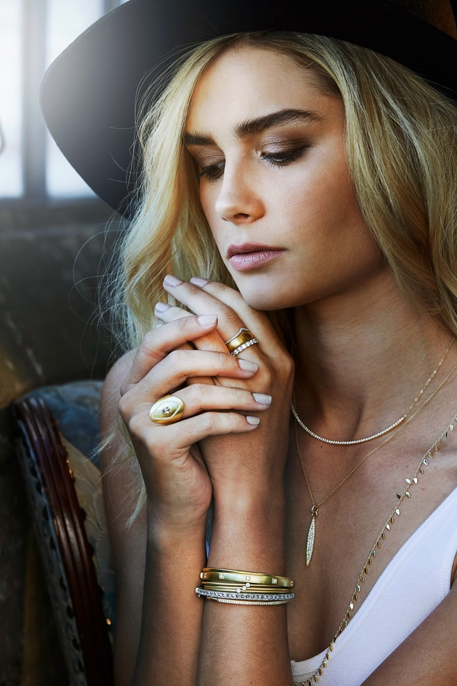 The Jewel - Ila - Lookbook - Gold and Silver Jewelry Collection