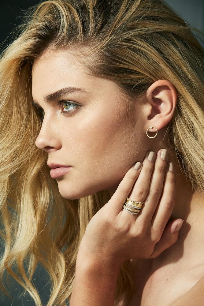 The Jewel - Ila - Lookbook - Circle Earrings and Rings