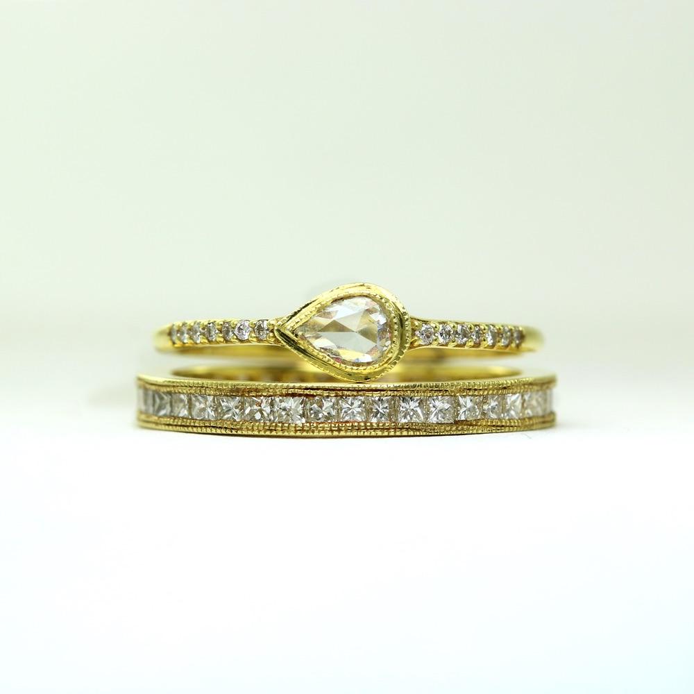 The Jewel - Ila - Lookbook - Gold Diamond Rings