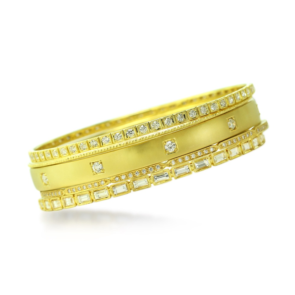 The Jewel - Ila - Lookbook - Gold Studded Bands