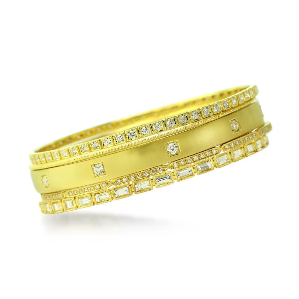 The Jewel - Ila - Lookbook - Gold Studded Bands