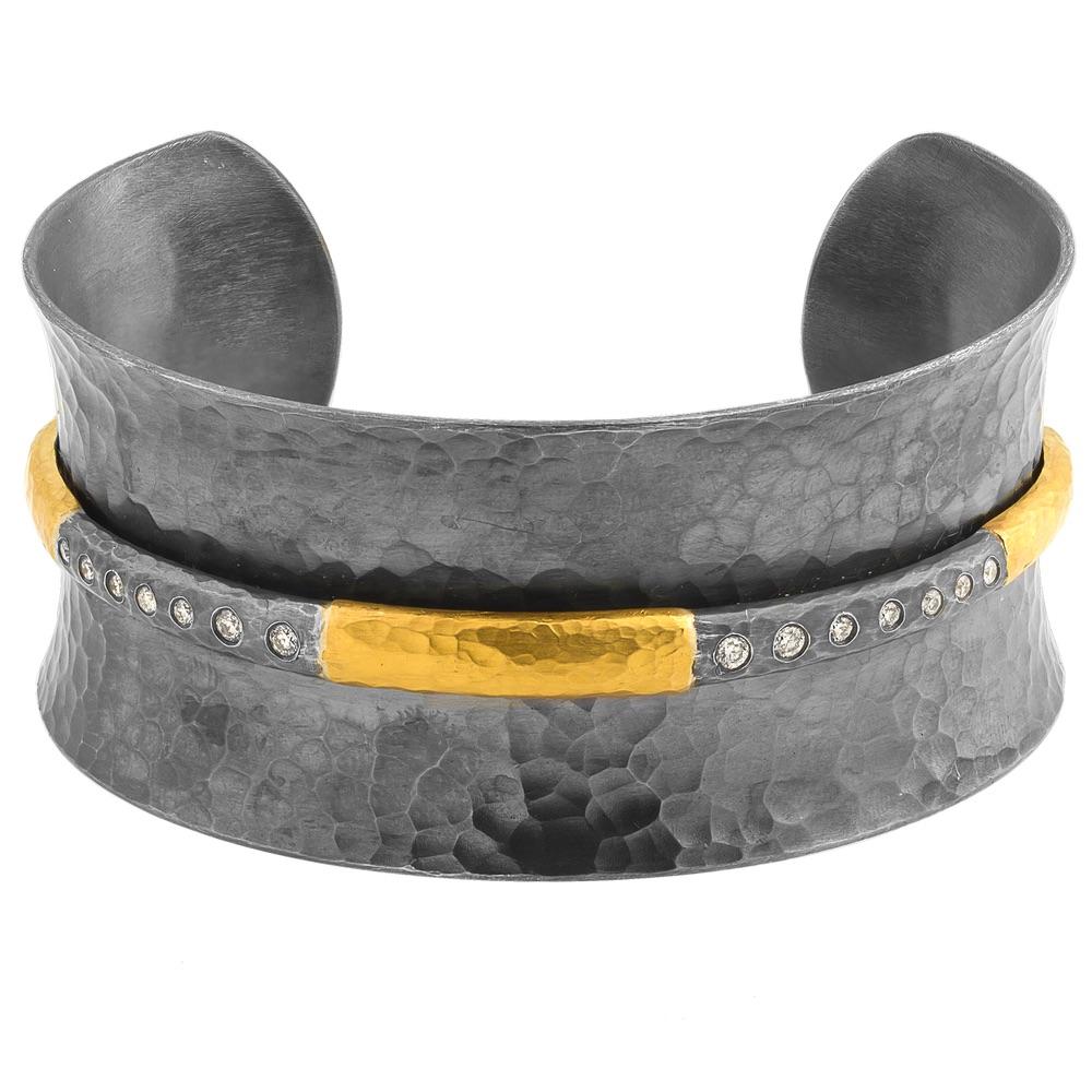 The Jewel - Lika Behar - Lookbook - Gold Gray Cuff