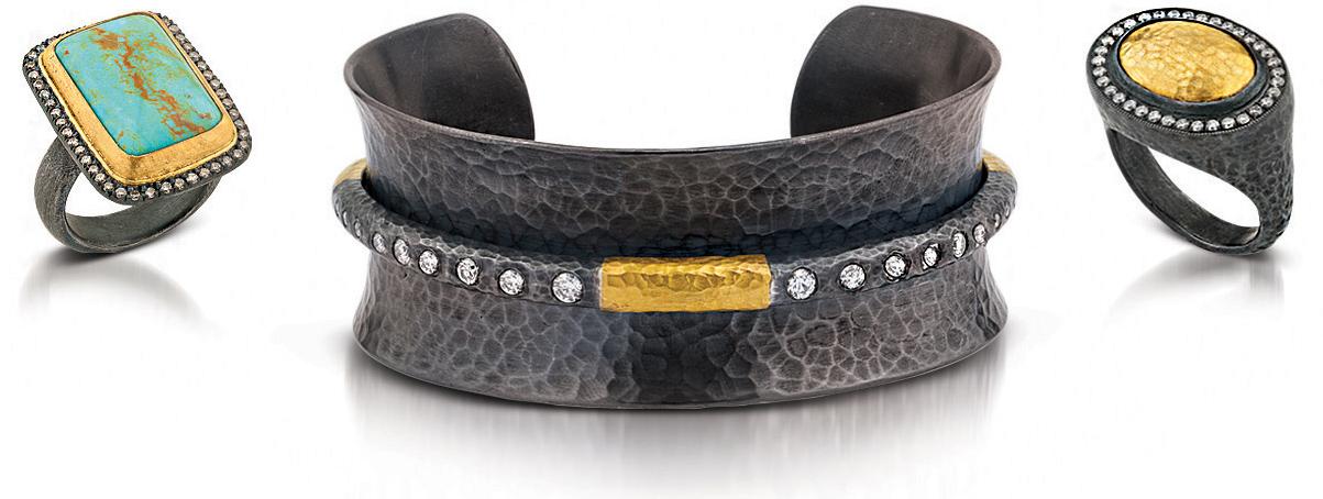 The Jewel - Lika Behar - Lookbook - Gold Gray Jewelry