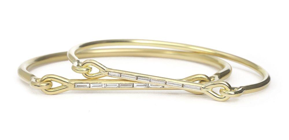 The Jewel - Tura Sugden - Lookbook - Gold Square Diamonds ring