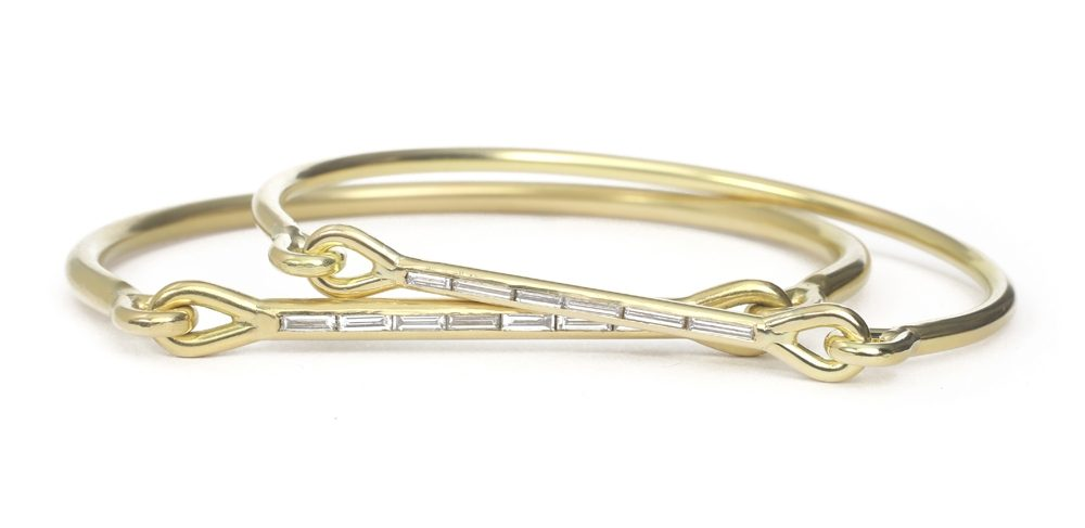 The Jewel - Tura Sugden - Lookbook - Gold Square Diamonds ring