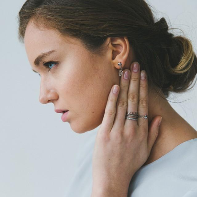 The Jewel - Tura Sugden - Lookbook - Silver Rings