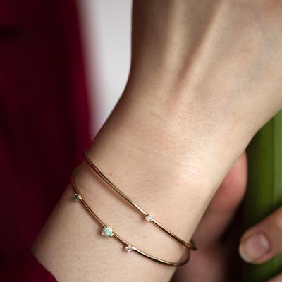 The Jewel - wwake The Jewel - wwake - Lookbook - Gold Bangles