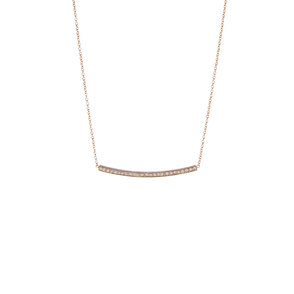 The Jewel - Zoe Chicco - Lookbook - Gold Band Necklace