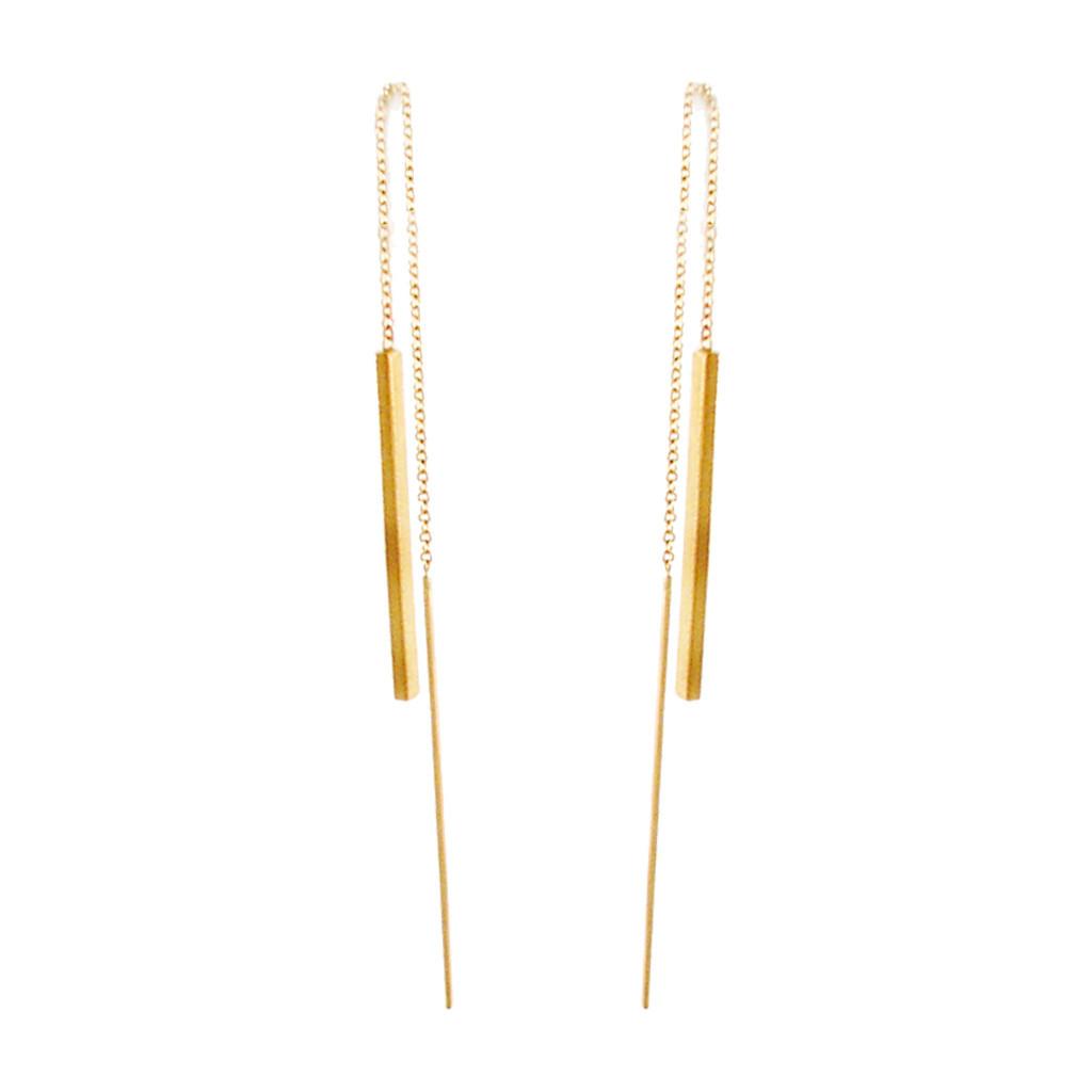 The Jewel - Zoe Chicco - Lookbok - Gold Earrings