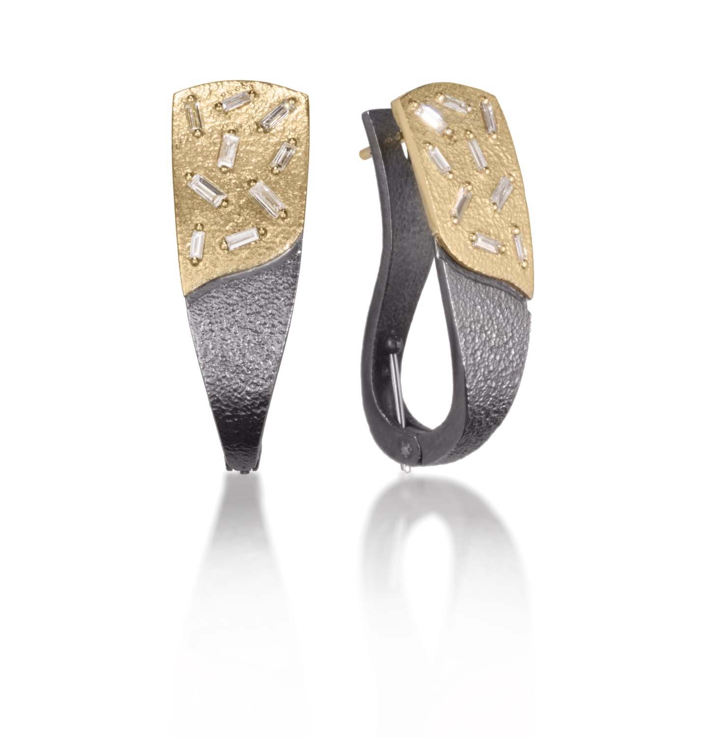 The Jewel - Elizabeth Garvin - Lookbook - Gold and Silver Earrings