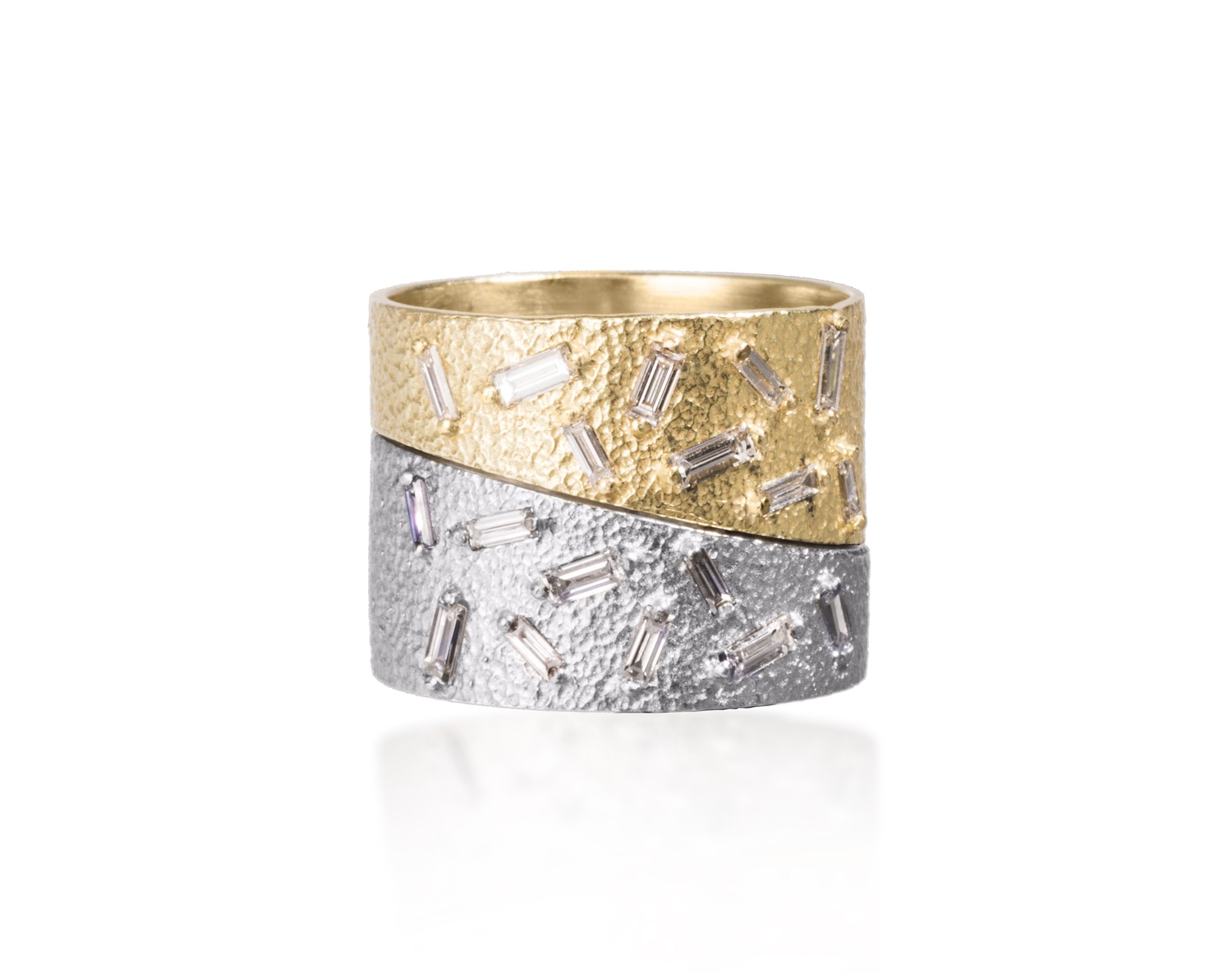 The Jewel - Elizabeth Garvin - Lookbook - Gold and Silver Ring
