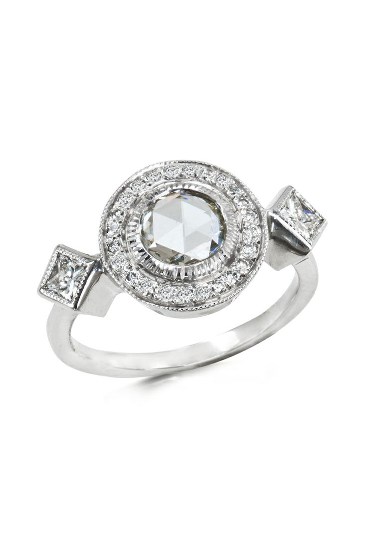 The Jewel - Just Jules - Lookbook - Silver Diamond Ring