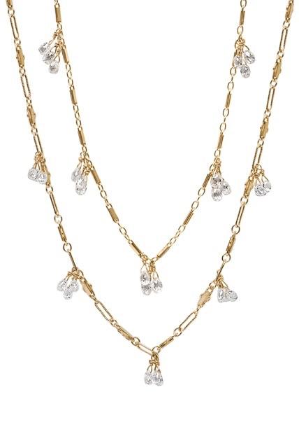 The Jewel - Just Jules - Lookbook - Gold Diamond Layered Necklace