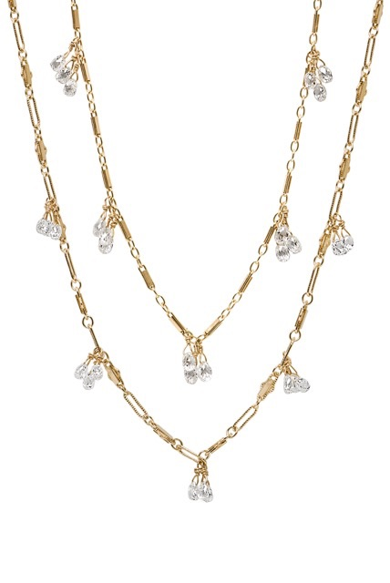 The Jewel - Just Jules - Lookbook - Gold Diamond Layered Necklace