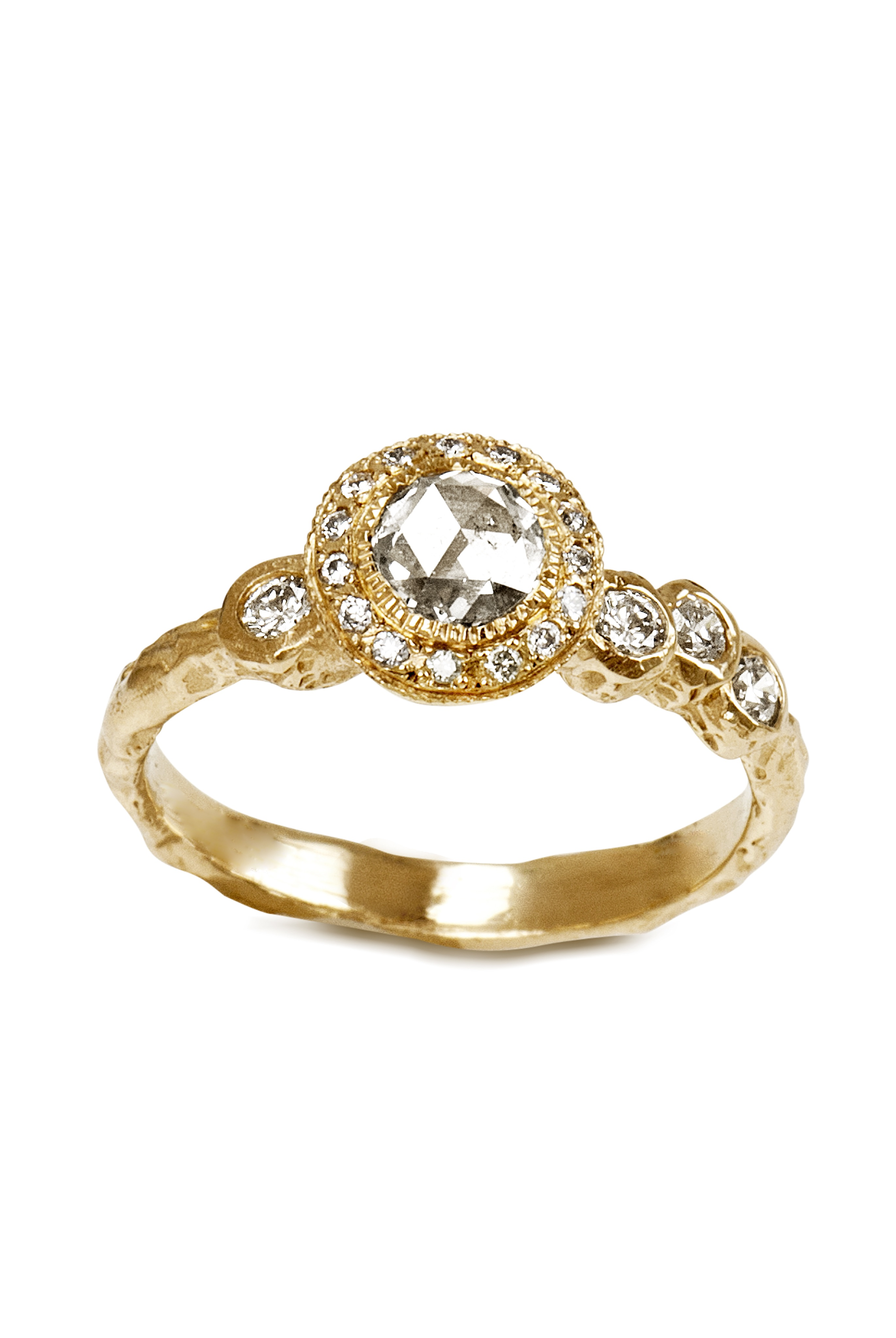 The Jewel - Just Jules - Lookbook - Gold and Diamond Studded Ring