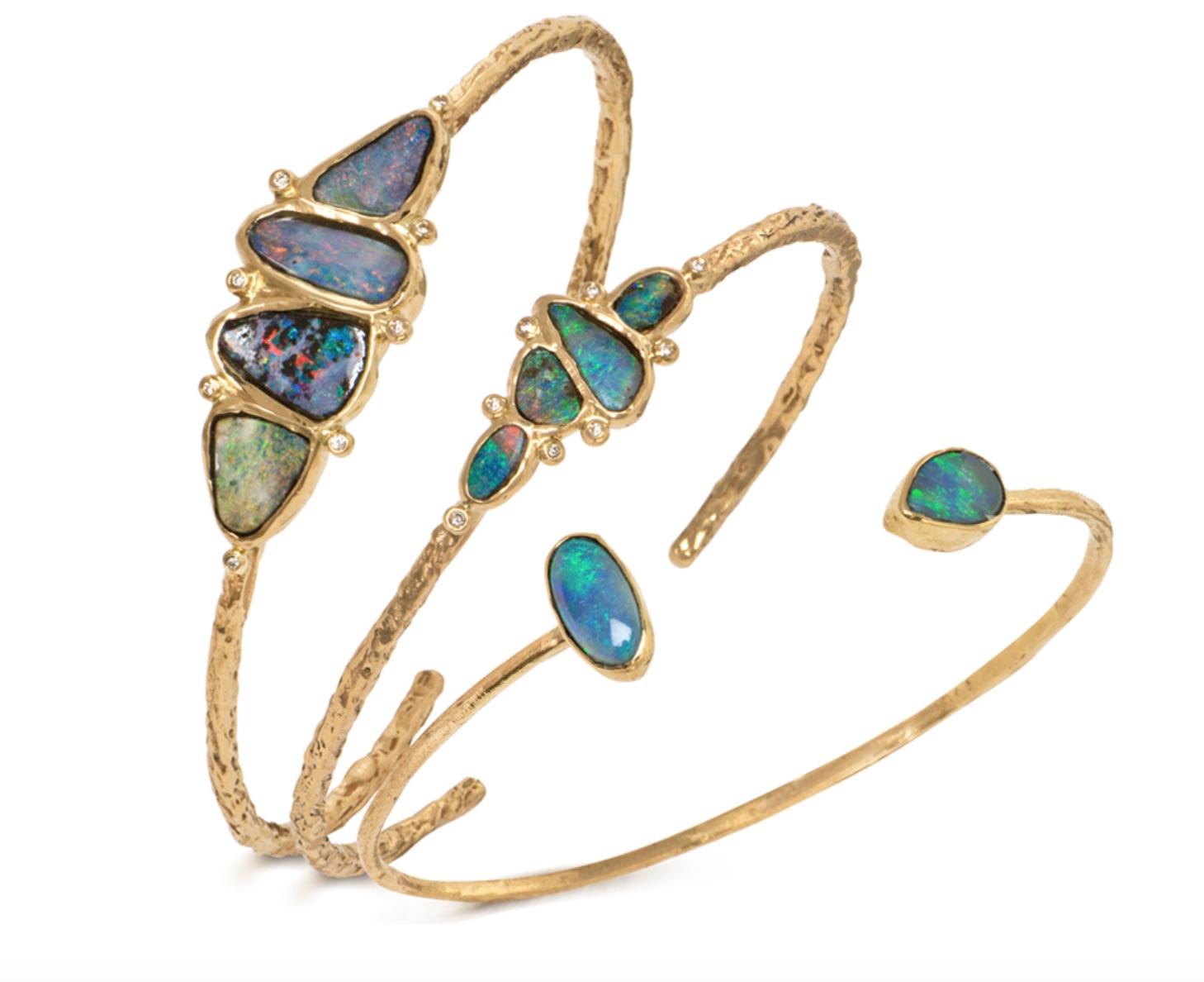 The Jewel - Just Jules - Lookbook - Gold Opal RIngs