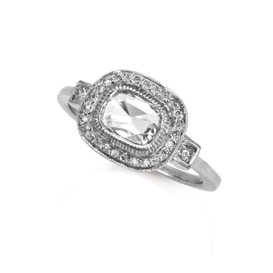 The Jewel- Just Jules - Diamond Oval Ring