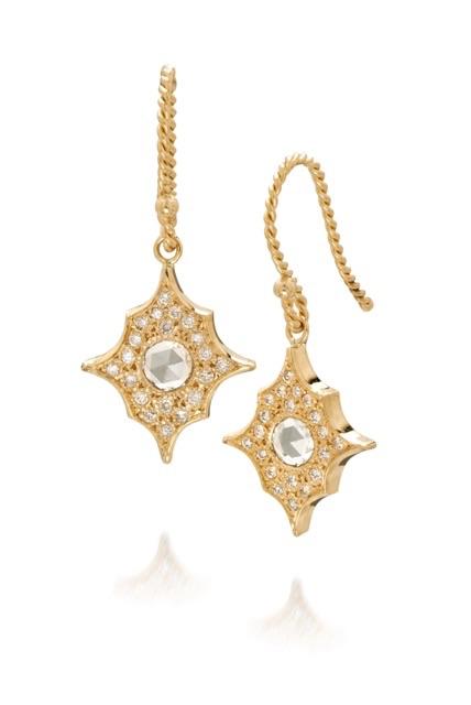 The Jewel - Just Jules - Lookbook - Gold Diamond Drop Earring