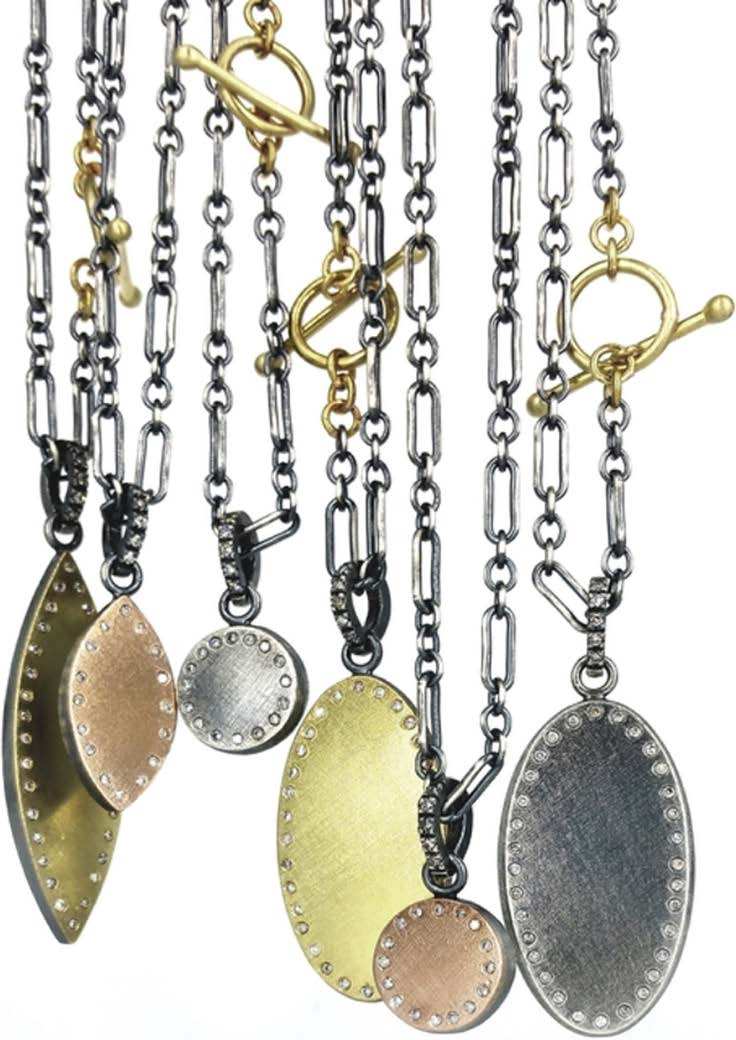 The Jewel - Rene Escobar - Lookbook - Bronze, Silver and Gold Necklaces