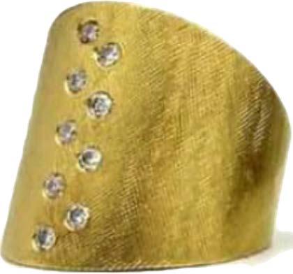 The Jewel - Rene Escobar - Lookbook - Gold Cuff Bracelet