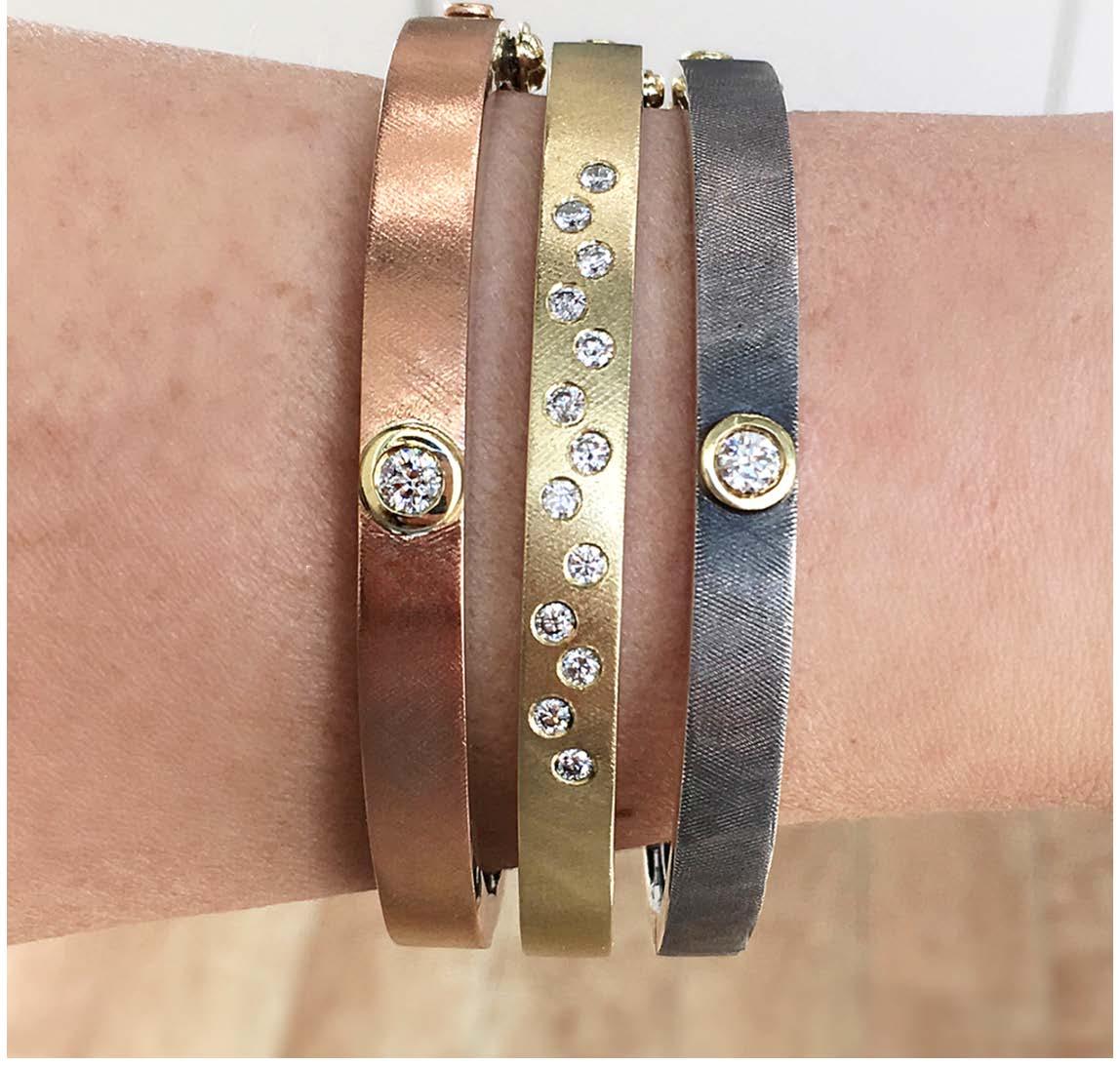 The Jewel - Rene Escobar - Lookbook - Bronze, Gold and Silver Bracelets
