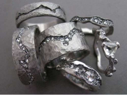 The Jewel - Todd Pownell Tap - Lookbook - Silver Rings