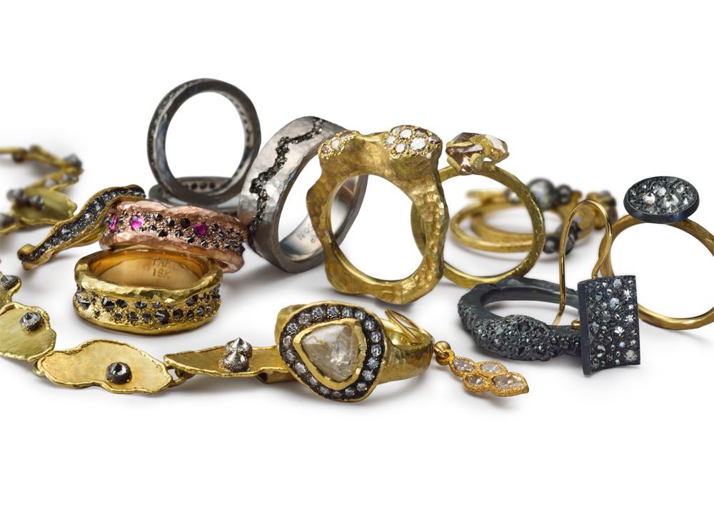The Jewel - Todd Pownell Tap - Lookbook - Rings
