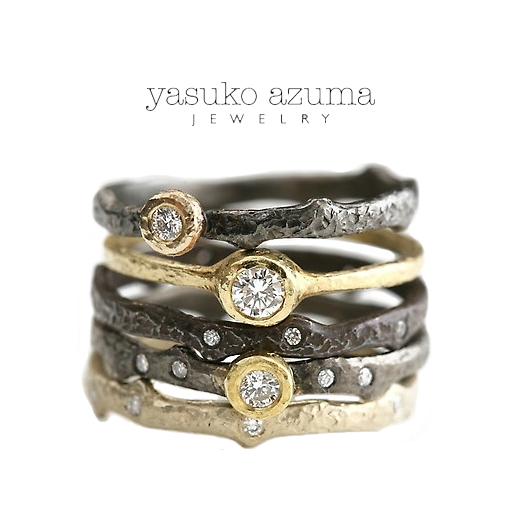 The Jewel - Yasuko Azuma - Lookbook - Gold and Silver Rings