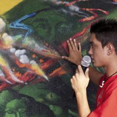 Video – Students Create Murals