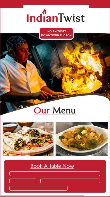 Restaurant Website Design Auburn