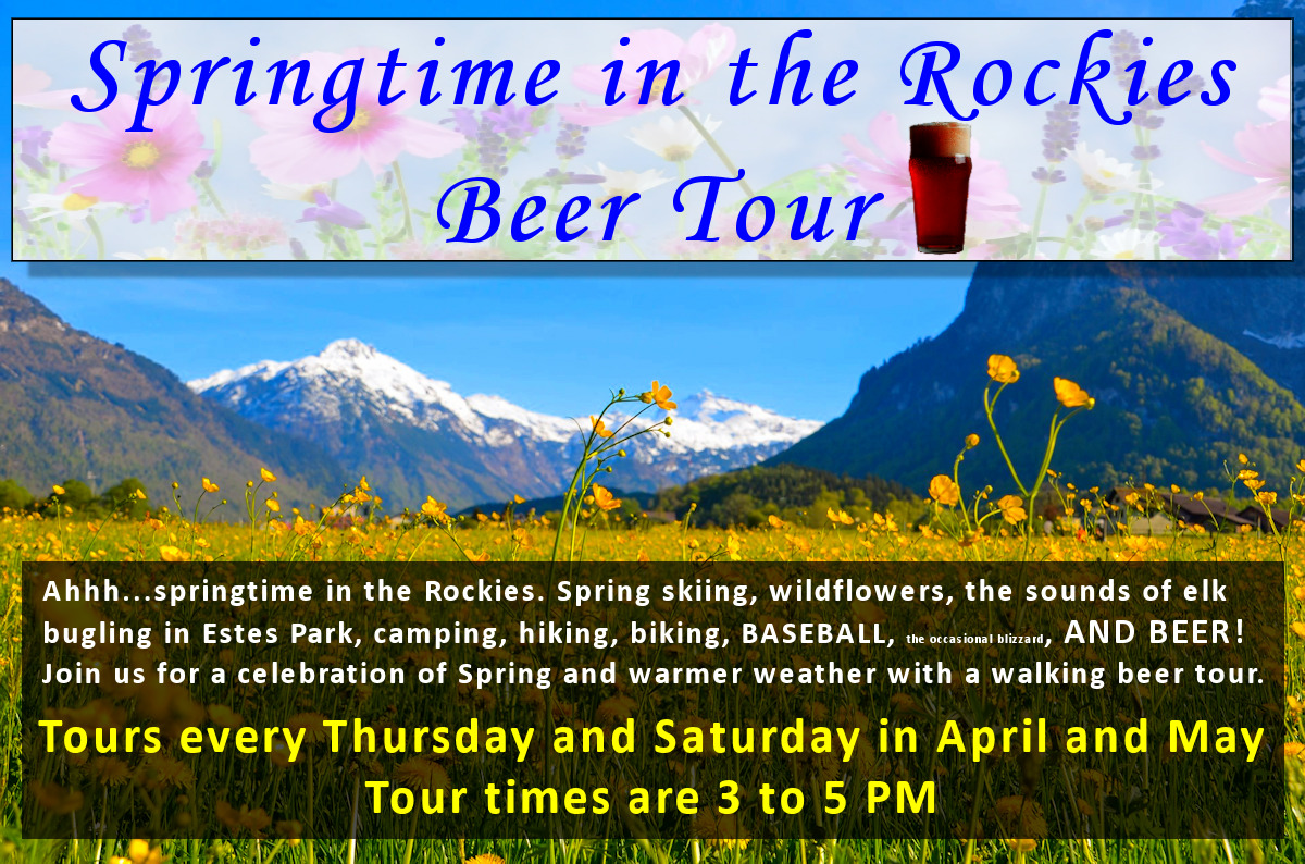 Springtime in the Rockies Beer Tour