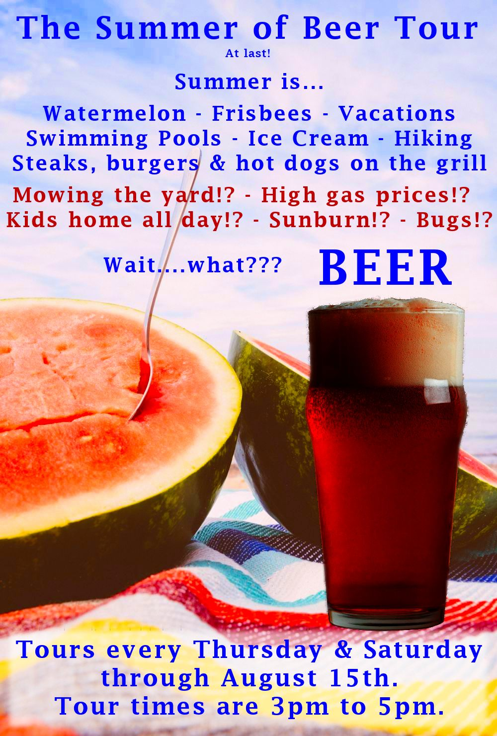 The Summer of Beer Tour
