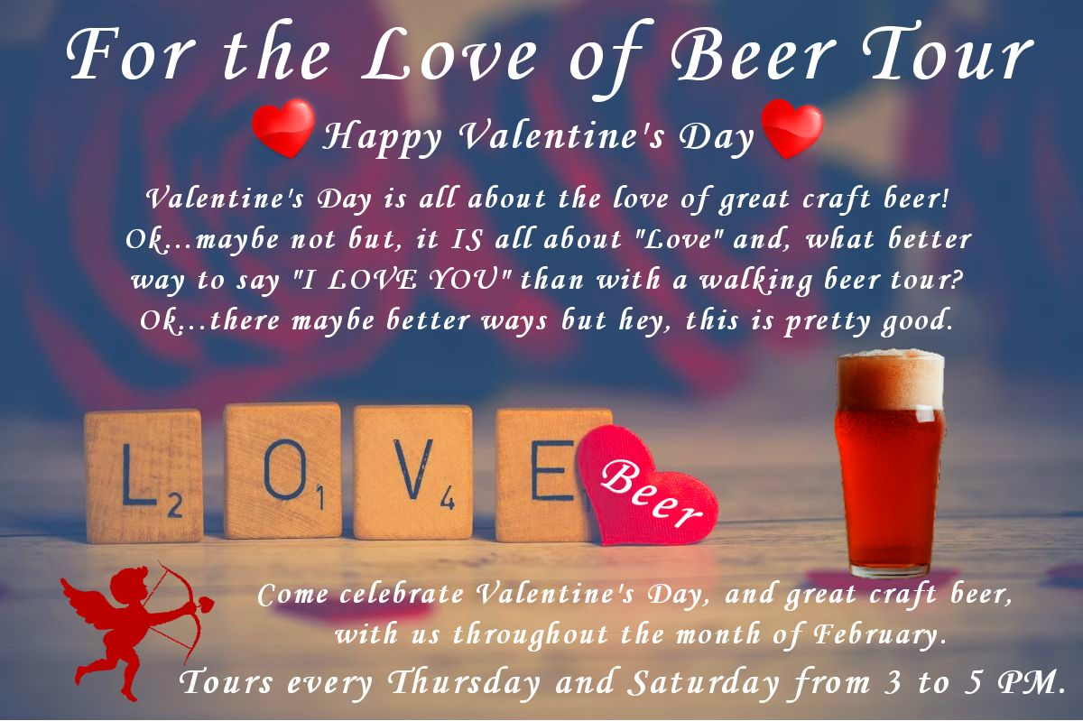For The Love of Beer Tour