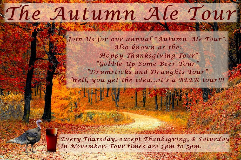 Springs Beer Tours - The Autumn Ale Tour