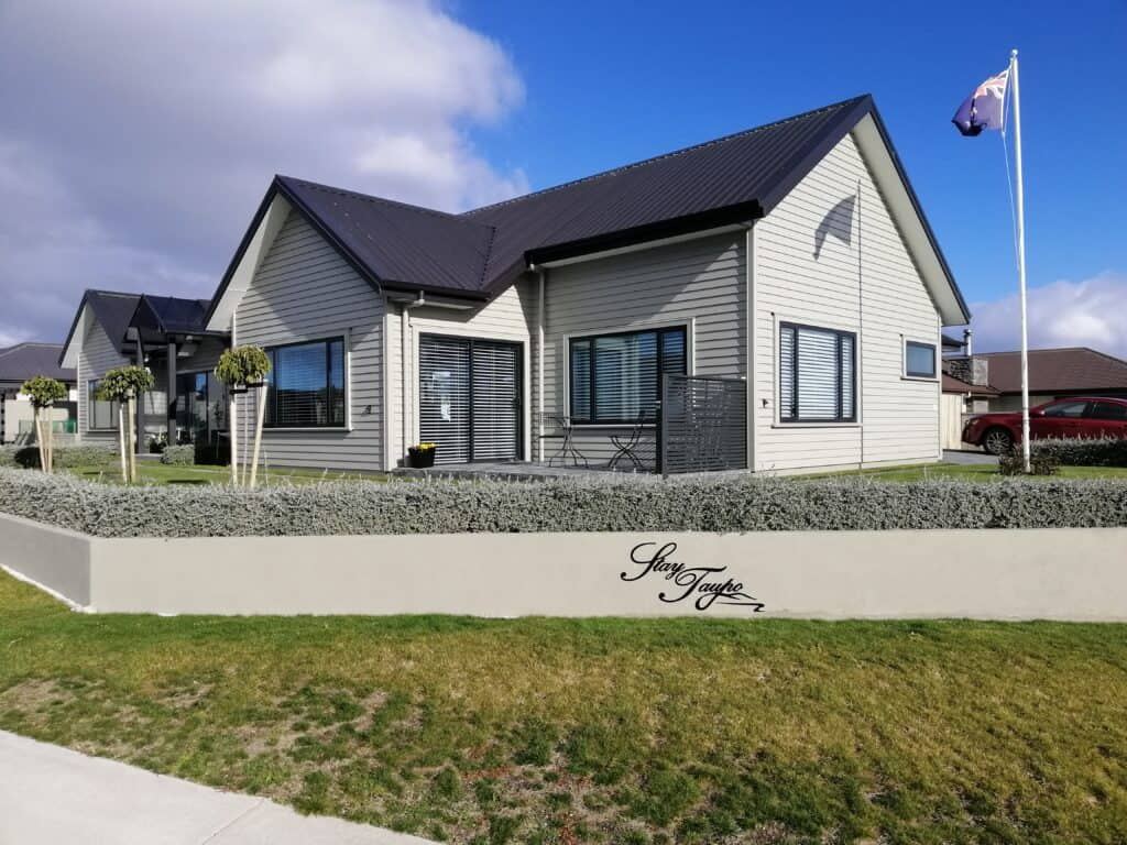 Your first view of Stay Taupo