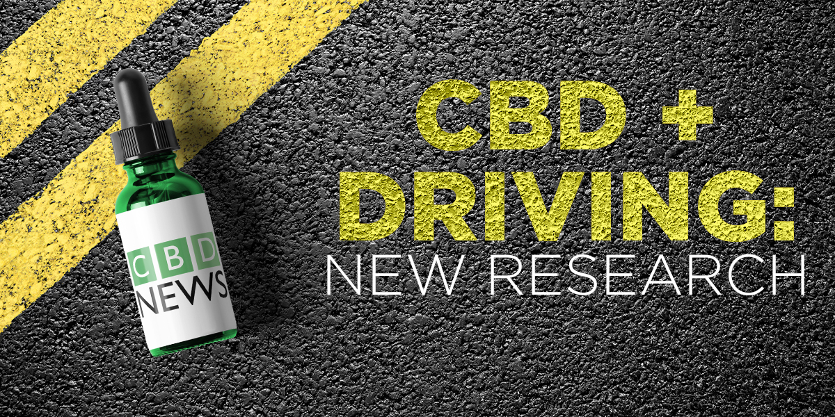 CBD oil and driving