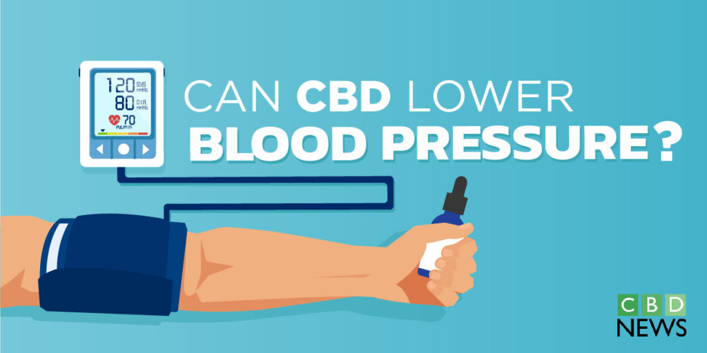 can CBD lower blood pressure
