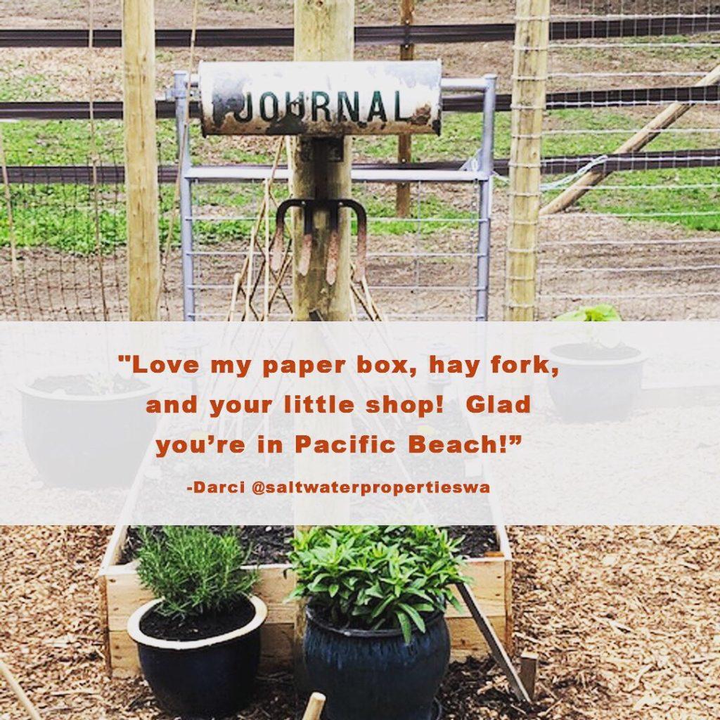 DIY Newspaper box project