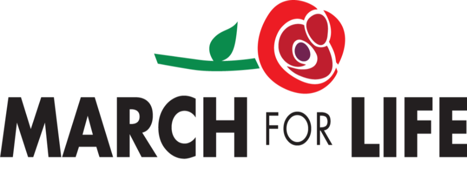 March For Life logo - banner